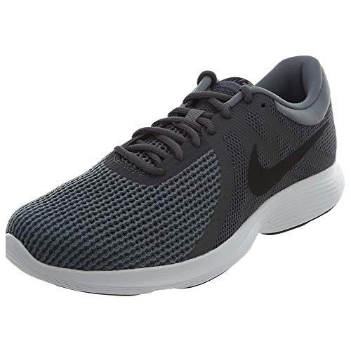 Prueba Comprensión Bonito  Nike Men's Revolution 4 Running Shoe, Dark Grey/black - Dark Grey - White,  13 4E US on Galleon Philippines