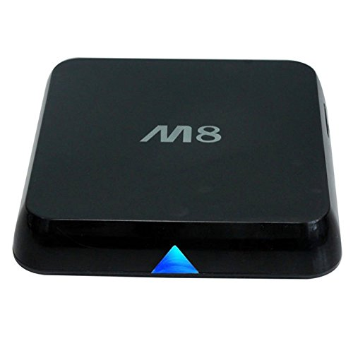 Dragon-Best M8 Quad Core Android 4.4 Smart Set Top TV Box XBMC 3D Blu-ray 4K Streaming Media Player Miracast DLNA Receiver Amlogic S802 Cortex A9@ 2GHz 1GB Ram 8GB Rom Mali450 GPU 4K HDMI 2.4G/5G Dual WiFi Ultra HD Mini PC