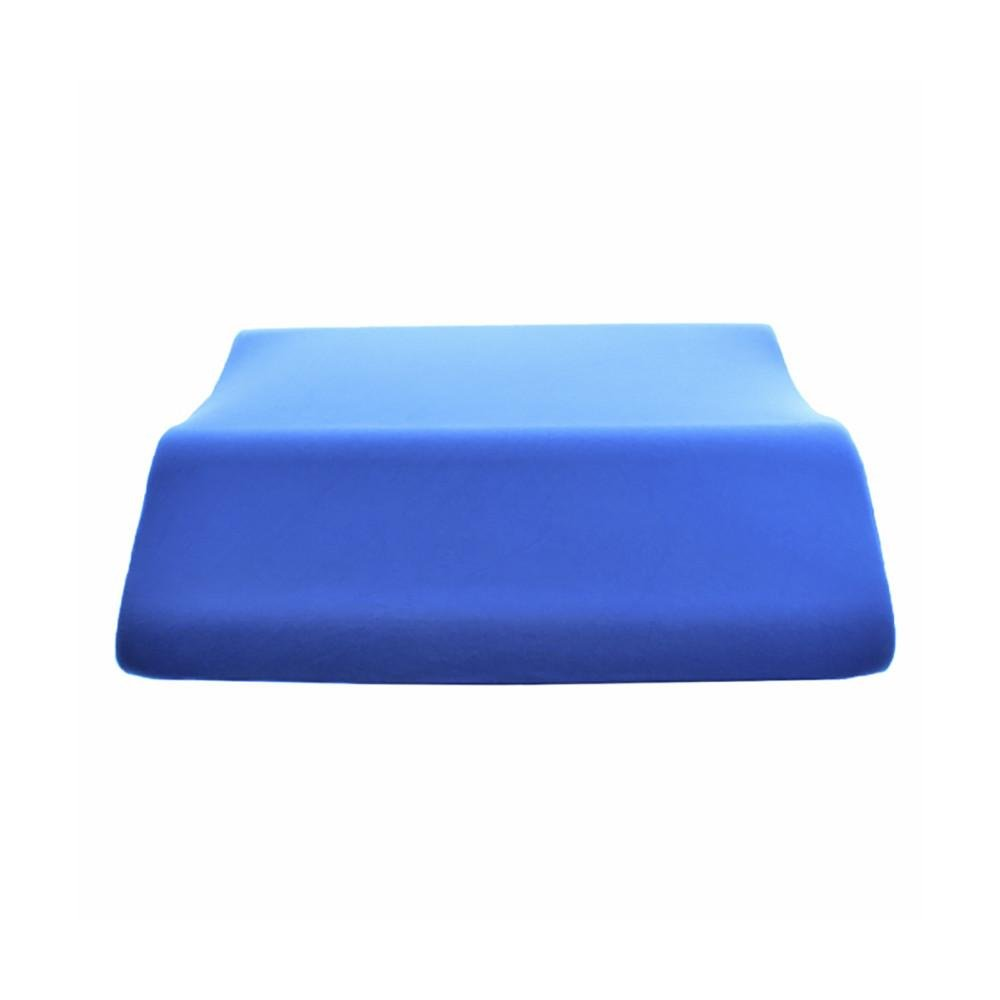 Extra Wide Lounge Doctor Leg Rest With Memory Foam Blue Medium MFOAM-XWIDE-M-BLUE