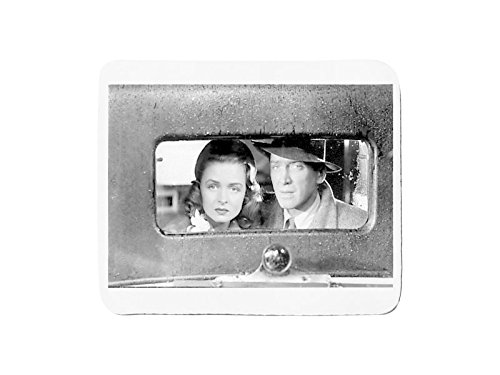 Mousepad with Jimmy Stewart and Donna Reed in the movie It's A Wonderful Life