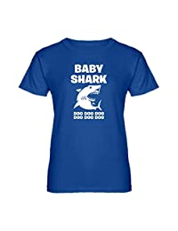 Indica Plateau Womens Baby Shark T-Shirt