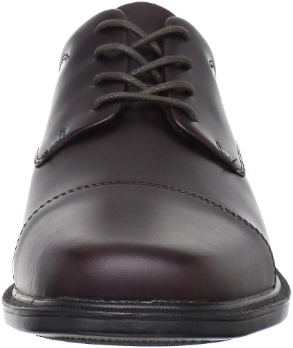 Rockport Mens Ellingwood Derby Schoen Oxblood