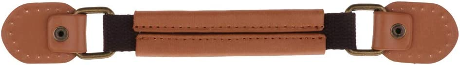 Khaki sharprepublic Leather Suitcase Luggage Handle Strap Replacement Durable Furniture Handle