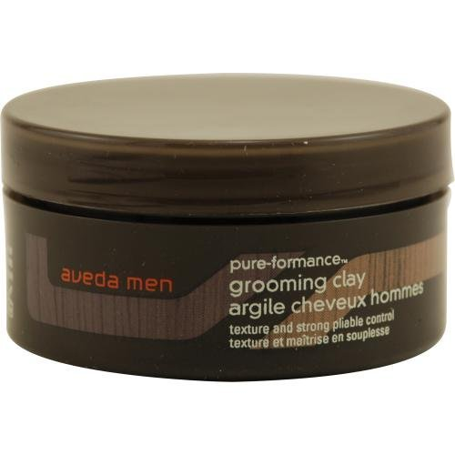 [Aveda] Mens Pure-Formance Grooming Clay 75 ml Bundle with Oil Blotting Paper - Matte (Men Pure Formance Pomade)