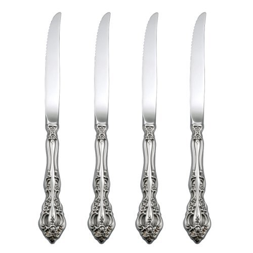 Oneida Michelangelo Steak Knives, Set of 4 For Sale