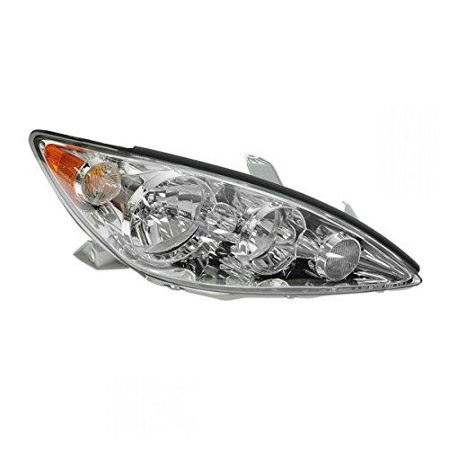 Headlight Headlamp w/Chrome Trim Passenger Side Right RH for 05-06 Camry LE/XLE