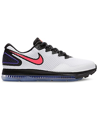 2 Out Low Femme de Chaussures NIKE Zoom 101 All W Compétition blac Running Solar Red Multicolore White wHfxWFxqT