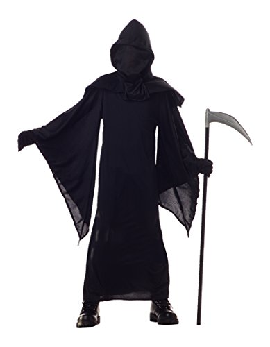 Hooded Robe Child Costumes (California Costumes Horror Robe Child Costume, X-Large)
