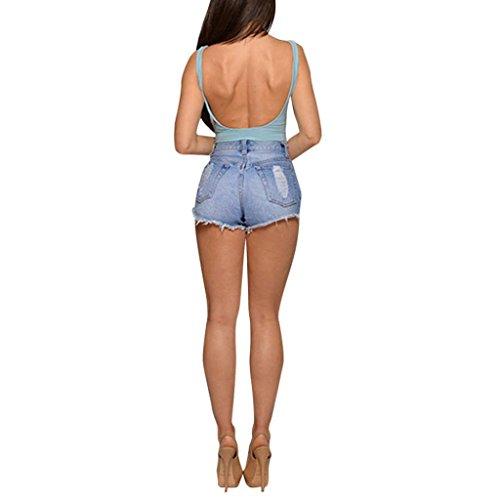 Viaggio Corti Shorts Estate Esclusiva Estivi Forte Donna Donna Da Luoluoluo in Di Per Taglia Pantaloncini Pantaloni A Casuale Jeans L'italia n87wOwqx4d