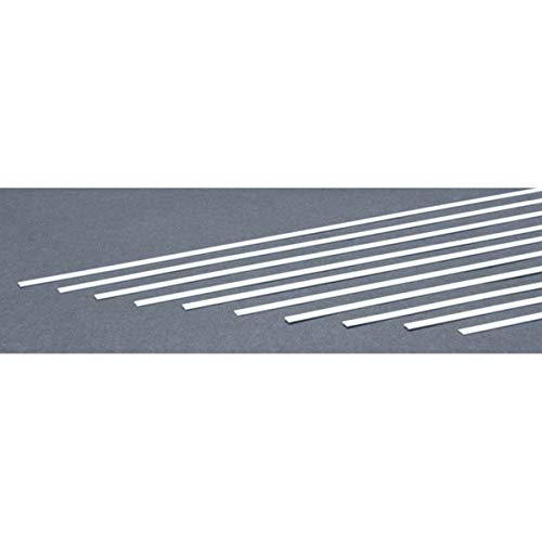 Evergreen Scale Models Strip .020 x .156 (10), - Scale Styrene Strips Evergreen