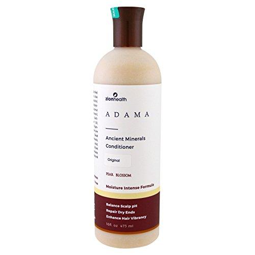 Zion Health Adama Ancient Minerals Conditioner Original Pear Blossom, 16 Fluid Ounce