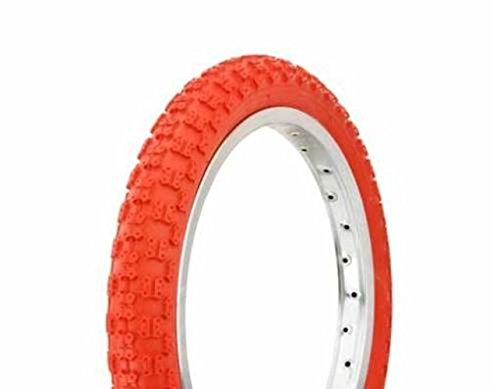 """1 BICYCLE TIRE 16""""x2.125"""" Comp 3 Design DURO JOGGER BMX Bike Scooter (Red)"""
