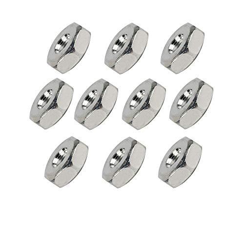 SaferCCTV(TM 10pcs Sprocket Cover Bar Nuts for Stihl 028 029 030 031 032 034 036 MS240 MS260 MS251 MS271 MS280 MS290 MS310 MS340 MS360 MS380 MS381 Chainsaw Replace Part# 0000 955 0801