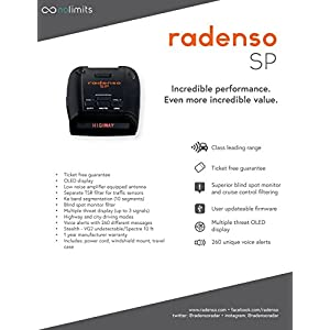 Radenso SP Radar & Laser Detector with False Filtering