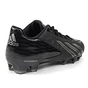 Adidas Men's Filthy Quick Low Football Cleat , Black|Black|Titanium, Size 11.5
