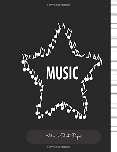 Music Sheet Paper: Empty Staff, 12 Stave Manuscript Sheets Notation Paper For Composing For Musicians,Teachers, Students, Songwriting. Book Notebook Journal 100 Pages  8.5x99 pdf