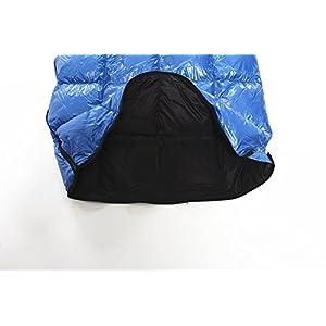 AEGISMAX Spacious Rectangular Down Sleeping Bag Ultralight Compact Envelope Down Sleeping Bag for Backpacking,Hiking (SP1)