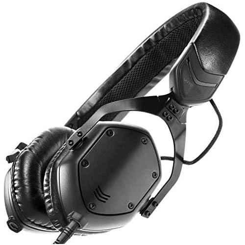 chollos oferta descuentos barato V MODA XS Metal Noise Isolating Auriculares de diadema cerrados control remoto integrado negro