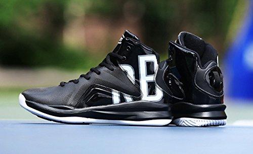Jiye Prestazioni Allenamento Sportivo Scarpe Da Basket Da Uomo Moda Sneakers Nere