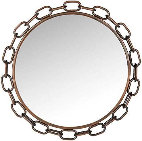 Safavieh Home Collection Antique Copper Atlantis Chain Link Mirror