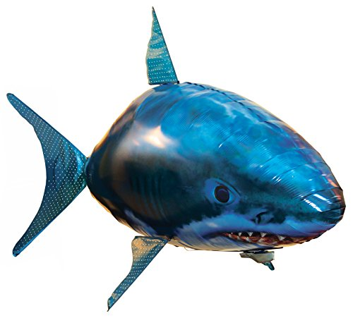 Air swimmers remote control flying shark clownfish for Air swimming fish