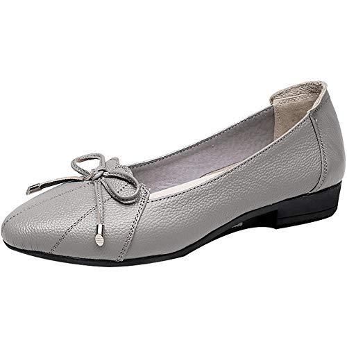 Zapatos Trabajo EU de de Ocasionales cómodos Zapatos Ligeros de Moda Planos Zapatos 40 Zapatos la FLYRCX Solo 39 UE Boca señoras Puntiagudos TxBfZw1Tq