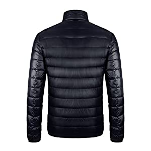 CIOR Men's Down Puffer Jacket Coat Ultra-Lightweight Packable With Travel Bag…