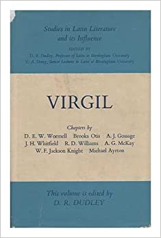 Book Virgil (Studies in Latin Literature and Its Influence) (Study in Latin Literature)
