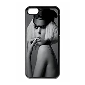 JenneySt Phone CasePopular Singer Lady Gaga Series For Iphone 5c -CASE-7