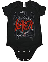 Slayer Baby Infant Black Eagle Creeper Black