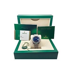Rolex Datejust 36 Blue Dial Steel Mens Watch 116200