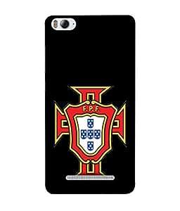 ColorKing Football Portugal 09 Black shell case cover for Xiaomi Redmi 4A