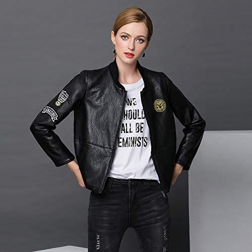 Vêtements D'automne Pour Femme Décontractée Et Femme Liuxc Lavée Femmes Confortable D'hiver Veste Black Chaude 5wHRxR