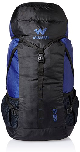 0f9b75a694 Wildcraft 45 Ltrs Blue Rucksack (8903338073871)  Amazon.in  Bags ...