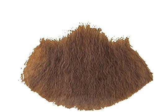 Gentlemans Light Brown Human Hair Goatee Chin Beard (Beard With Goatee)