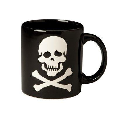 Waechtersbach Halloween Skull Mug, Set of 4