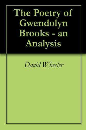 gwendolyn brooks poem analysis