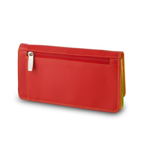 Colorful Dudu Wallet leather Wallet Dudu leather Collection Color Red Canarie Colorful YxSqwxCO