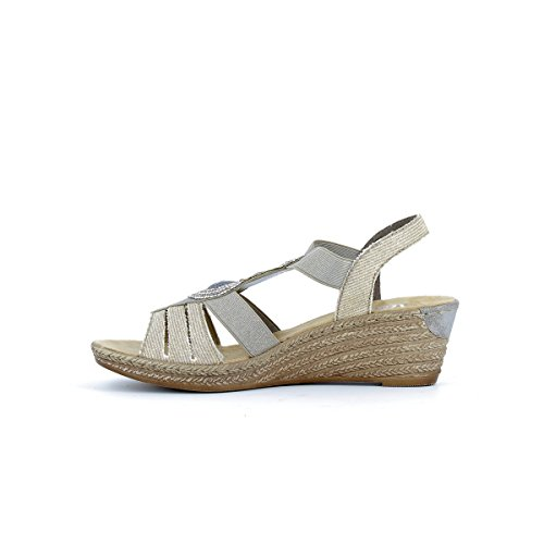 Sandales 62459 grises Dorado
