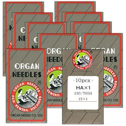 Organ Sewing Machine Needles 100 Count Size 14