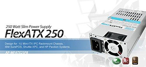 Athena Computer Power AP-MFATX25P8 Athena 250W Flex ATX Power Supply