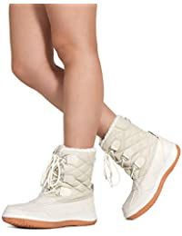 Women s Waterproof Warm Fur Lined Cold Weather Snow Rain Ankle Boots 5ef0fd431aa