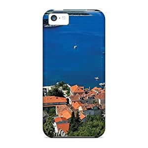 Abisail-Diy 5c Scratch-proof protective case cover For Iphone/ Hot The City Of Hvar cell phone 6lsNTmOqG6C case cover