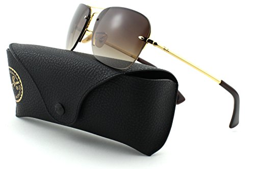 1ff903472e Ray-Ban RB3541 Metal Gold Frame Brown Gradient Lens 001 13
