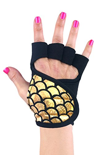 Womens Workout Gloves | Mermaid Collection