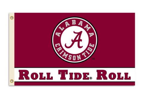 NCAA Alabama Crimson Tide 3-by-5 Foot
