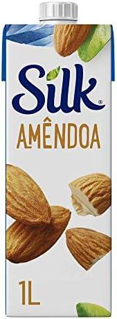Bebida Vegetal Silk Amêndoa 1L
