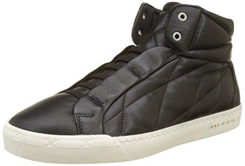 Kiss Men's Sneakers Hi-Top Trainers Black (Black) outlet official site FLnYglt