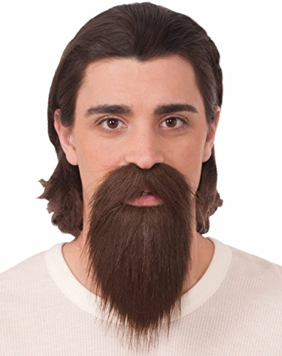 Forum Novelties Long Brown Goatee Beard -