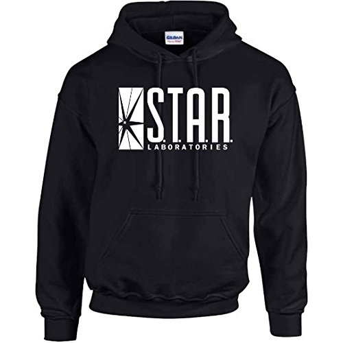 Star Laboratories Star Labs Hoodie Sweatshirt Sweater S.T.A.R Hooded Pullover - Premium Quality